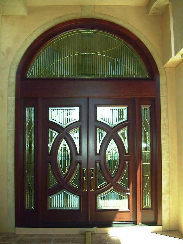 Decolux doors architectural wood products custom for Unique front entry doors