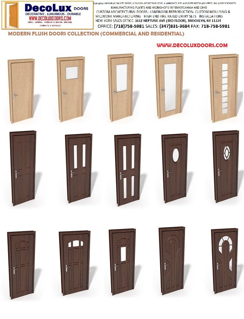 Modern Exterior Doors Flush Designs 794 x 1035
