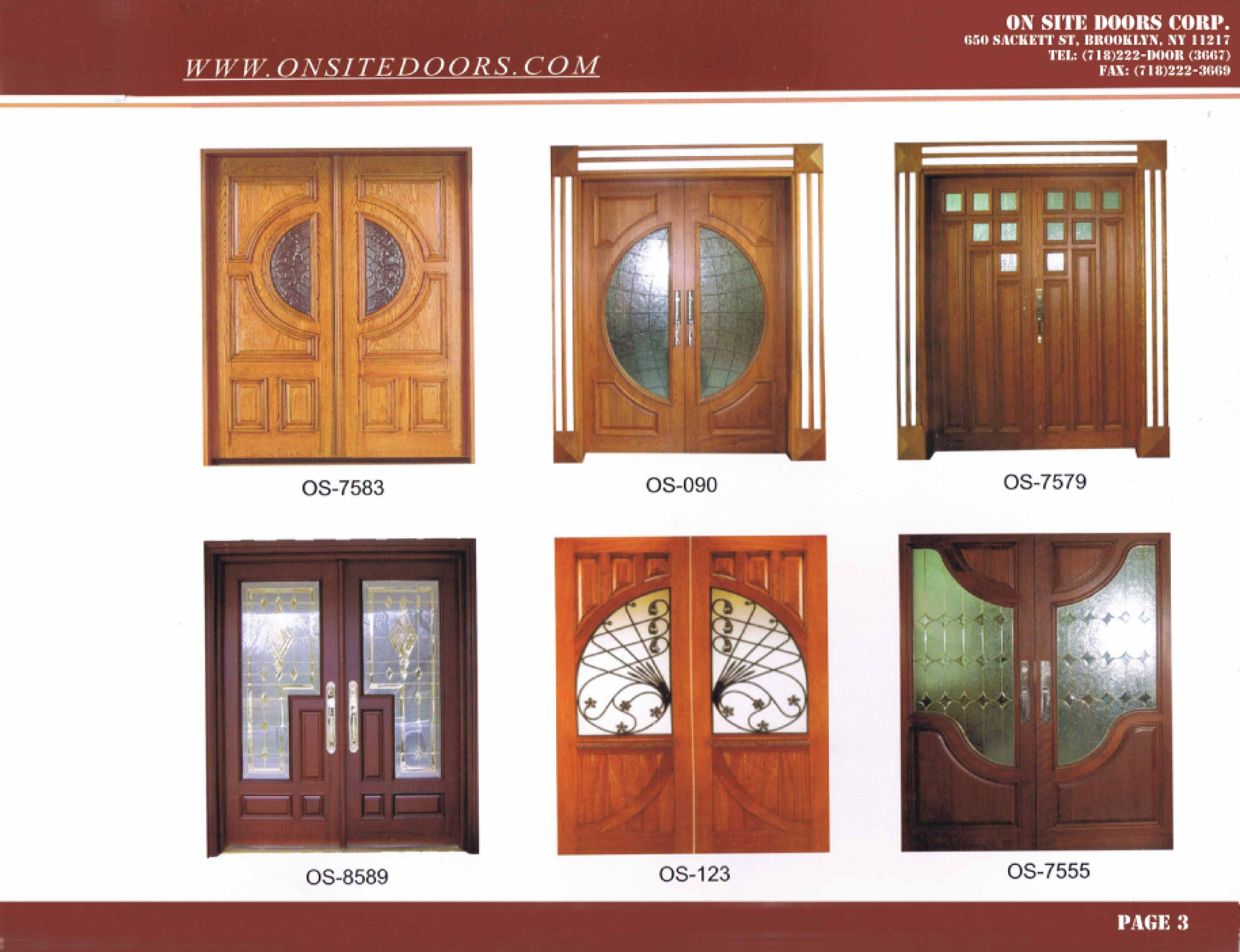 Interior door manufacturer for Wood door manufacturers