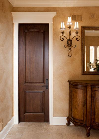 Interior Doors White Trim with Wood 400 x 560